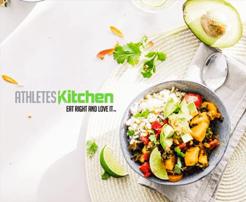 Athletes Kitchen - Custom Toronto Ecommerce Web Design
