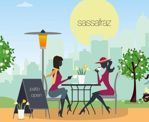 Sassafraz - Web Design Toronto for Food