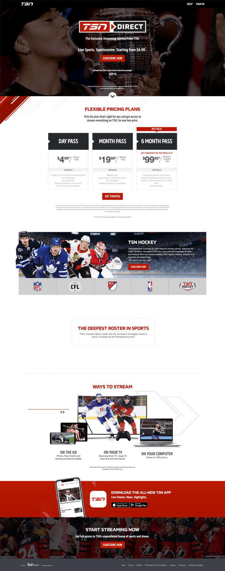 Toronto Web Design on laptop image