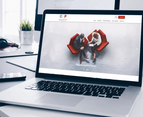 Cumming and Partners - Toronto Website Custom Development