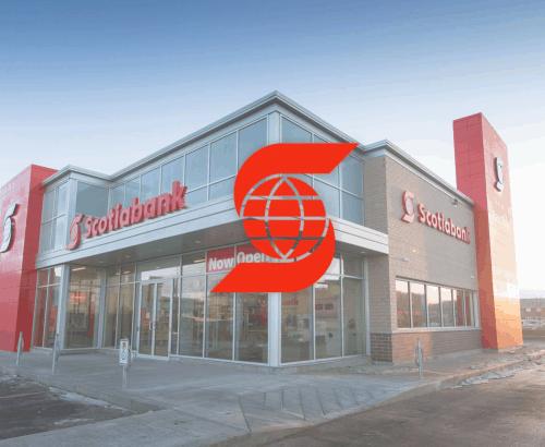 Scotiabank - Custom web design in Toronto